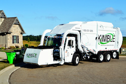 Kimble trucks run on compressed natural gas