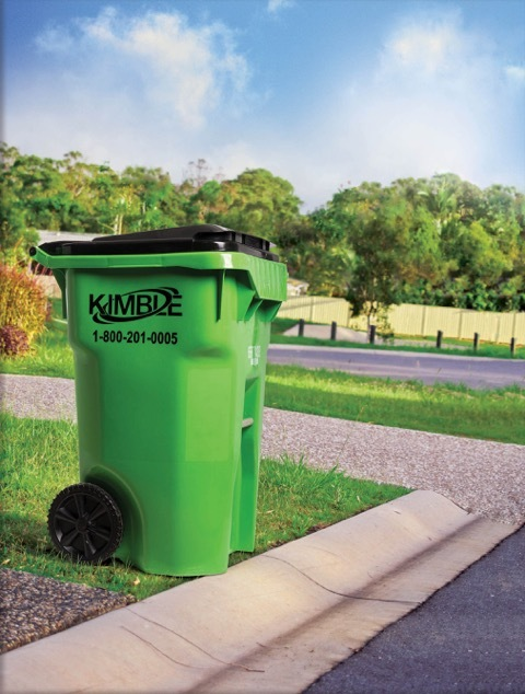 Kimble offers convenient curbside recycling in Ohio communities.